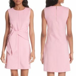 Ted Baker Papron Tie Front Dress Pink 3